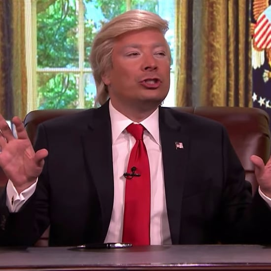 Jimmy Fallon's Donald Trump Impression Video February 2017