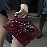 A dressed-up clutch for day.