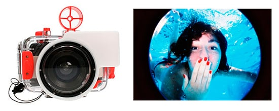 Take the Underwater Fisheye Camera to a Fourth of July Pool Party