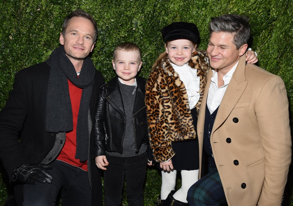 "It's no secret that Neil Patrick Harris and David Burtka have one of the most precious families in Hollywood, but just in case you needed a little reminder, their latest outing should do the trick. On Monday night, Neil and David were joined by their 7-year-old twins, Gideon and Harper, at the Saks Fifth Avenue holiday event in NYC. Little Harper looked adorable in a furry leopard coat, while Gideon kept things cool in a black leather jacket. Between this and their ""Carnival of Curiosities"" Halloween costumes earlier this year, this brood just keeps getting cuter with every day that passes by.      Related:                                                                                                           A Friendly Reminder That Neil Patrick Harris and His Family Own Halloween Every Year"