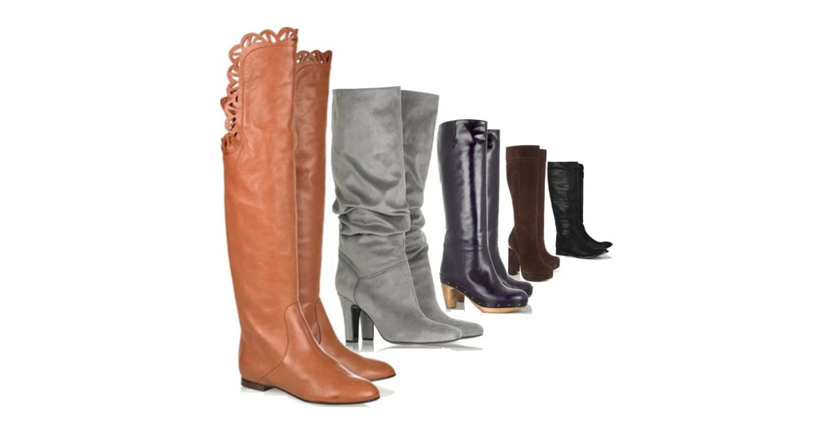 shop the best knee high boots for fall winter 2010