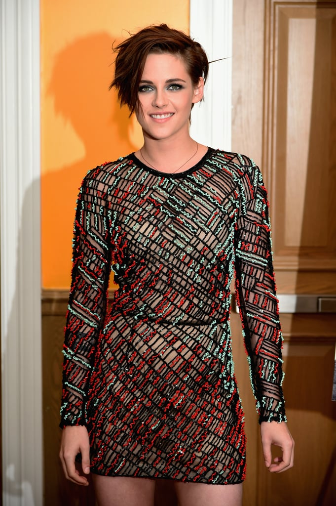 Kristen Stewart was all smiles on Monday night when she attended the New York premiere of her latest project, Camp X-Ray, at the Crosby Street Hotel. While she worked her red carpet magic with her costar Peyman Moaadi, we spotted her friend Nicholas Hoult making a discreet entrance into the screening. Nicholas, who is in the Big Apple to promote his new movie, Young Ones, didn't pose for photographs and went by relatively unnoticed. Kristen and Nicholas have forged a friendship after they worked on Equals together over the Summer. The pair was spotted exploring Japan during filming, and they even took part in the ALS Ice Bucket Challenge together. The pair had a connection before they started working together, as Kristen is close to Nicholas's ex-girlfriend Jennifer Lawrence.