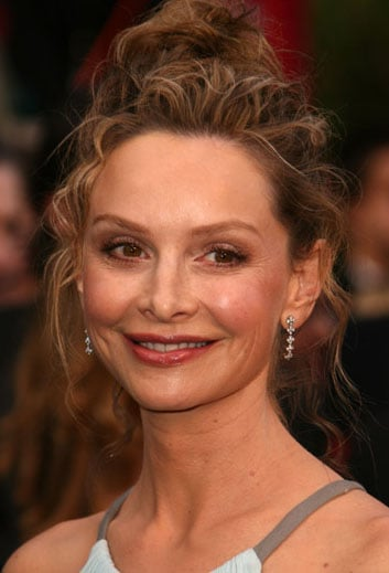 Calista Flockhart at the Oscars: hair and makeup