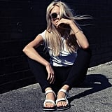 They gave rise to the comfortable Teva. Source: Instagram user peaceloveshea