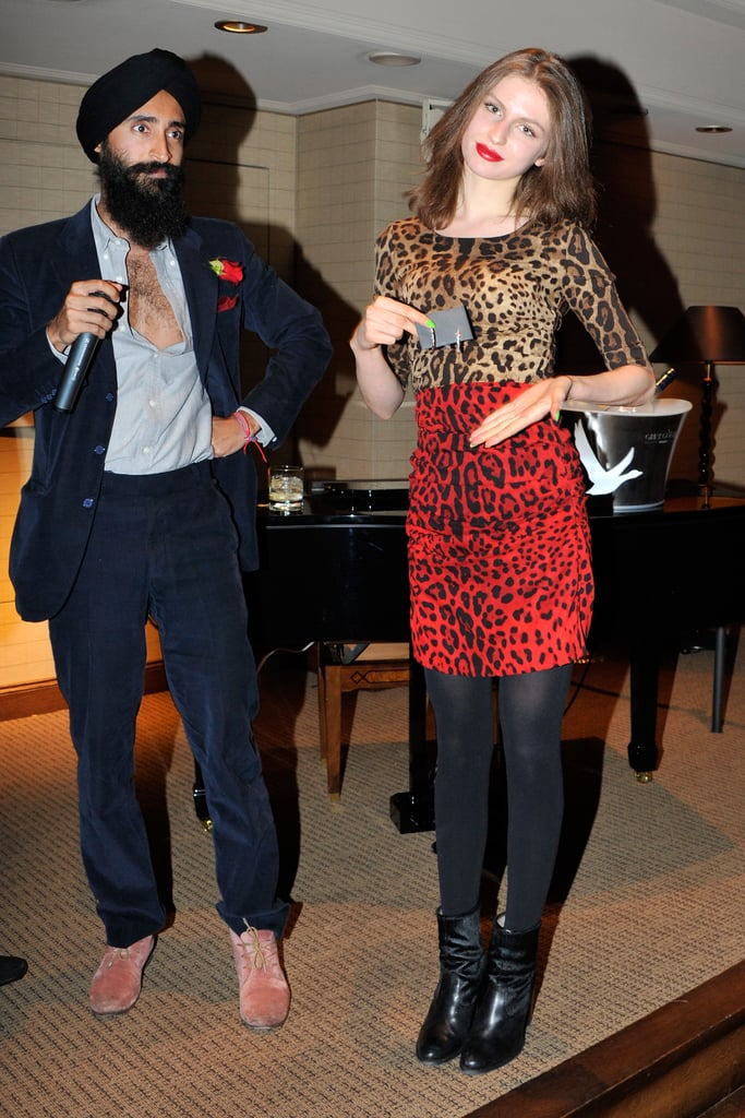 Waris Ahluwalia and Tali Lennox