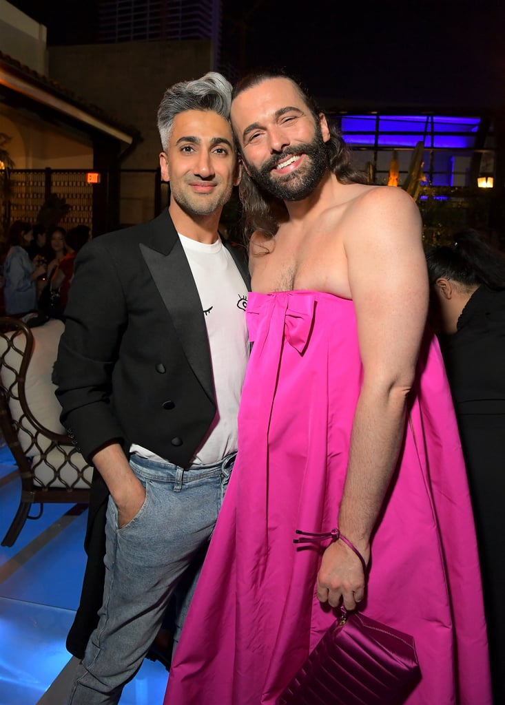 Jonathan Van Ness Wore the Rochas Gown to the Creative Arts Emmy Afterparty