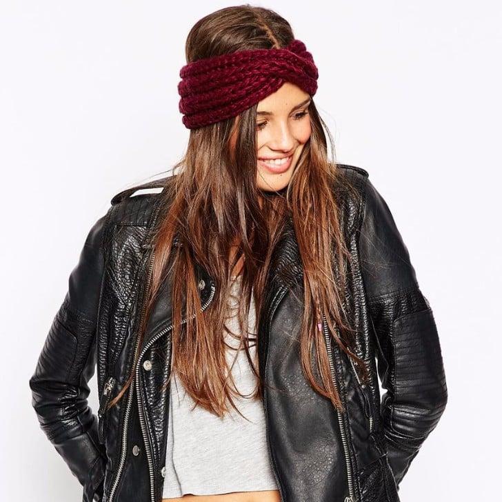 How To Style A Knit Headband Popsugar Beauty