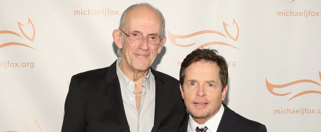Michael J Fox and Christopher Lloyd Reunion Photo 2018