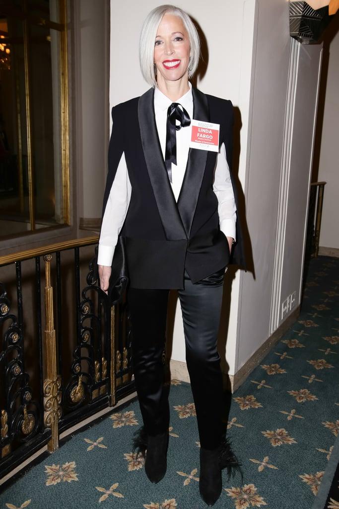 Linda Fargo at the YMA Fashion Scholarship Fund Awards.