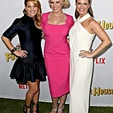 Pictured: Jodie Sweetin, Candace Cameron-Bure, and Andrea Barber