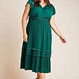 Current Air Sereia Pleated Midi Dress