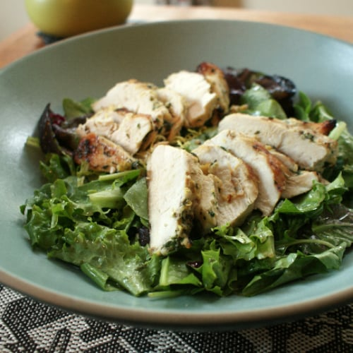 Grilled Chicken Salad With Herb Sherry Vinaigrette