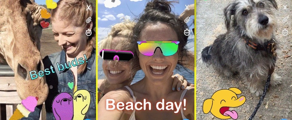 Everything You Need to Know About GIPHY Stickers on Snapchat