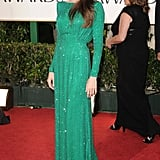 Angelina Jolie at the 2011 Golden Globe Awards