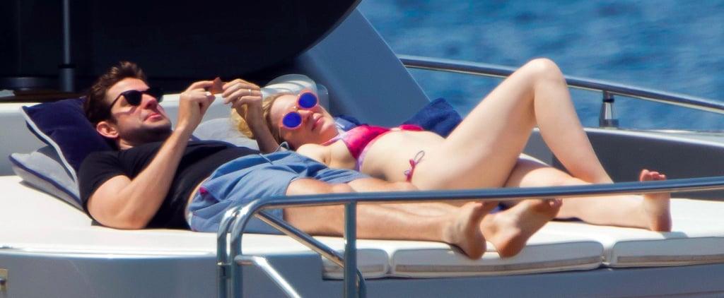 Bellissimo! John Krasinski and Emily Blunt Enjoy a Fun, Kid-Free Italian Getaway