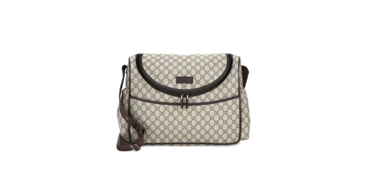 8368d60708af Gucci Mum GG Canvas Shoulder Bag | Best Diaper Bags | POPSUGAR Family Photo  26