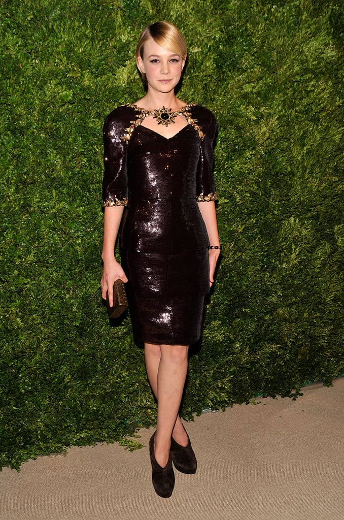Carey Mulligan in Chanel Couture at the 2010 CFDA/Vogue Fashion Fund Awards