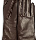 Bloomingdale's Cashmere Lined Long Leather Gloves ($98)