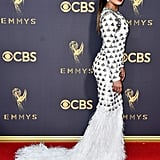 Priyanka Chopra's Balmain Dress at the 2017 Emmys