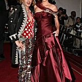 John Galliano and Charlize Theron — 2006