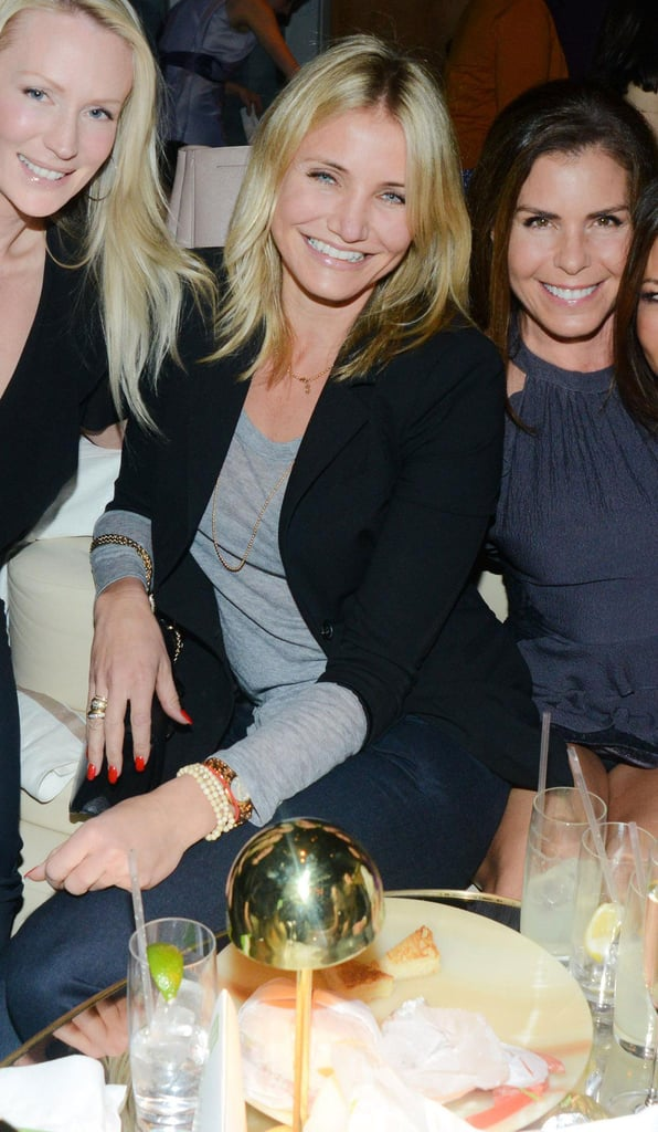 Cameron Diaz buddied up with the girls at the annual Greenhouse Project Benefit held at The Standard Hotel in NYC.
