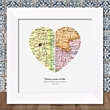 Godparents Map Gift