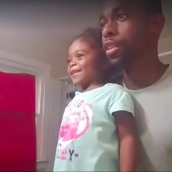 Cute Dad and Daughter Morning Motivation Video