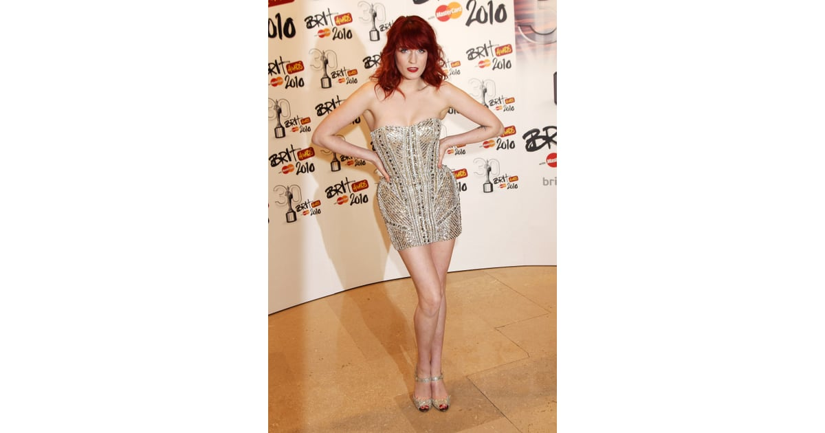 b2722eb8dbe6 February 2010: The Brit Awards | Style Stalk: The New Muse Of Gucci Florence  Welch | POPSUGAR Fashion Australia Photo 3