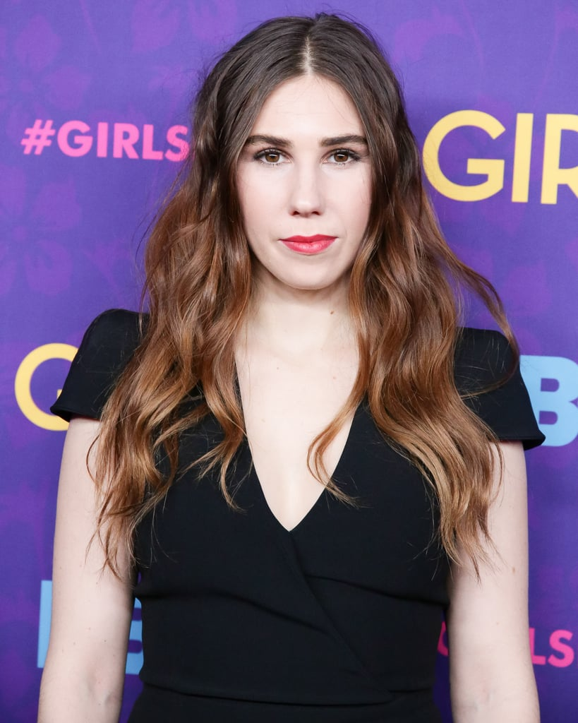 Casual chic seemed to be Zosia Mamet's inclination at the premiere, where she styled her ombré locks in tousled waves. Her makeup was focused on brushed-up brows and red lipstick — a simple, two-step beauty look that is always a winner.