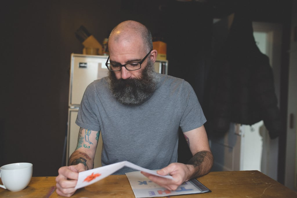 Father Gets a Tattoo Sleeve of His Son's Drawings