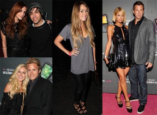 Photos of Ashlee Simpson, Heidi Montag, Lauren Conrad, Paris Hilton at Sidekick Launch Party