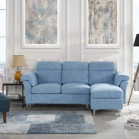 Casa Andrea Milano Modern Sofa | Best Couches For Small Spaces ...