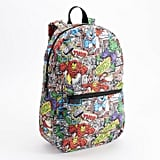 Marvel Comic Heroes Print Backpack