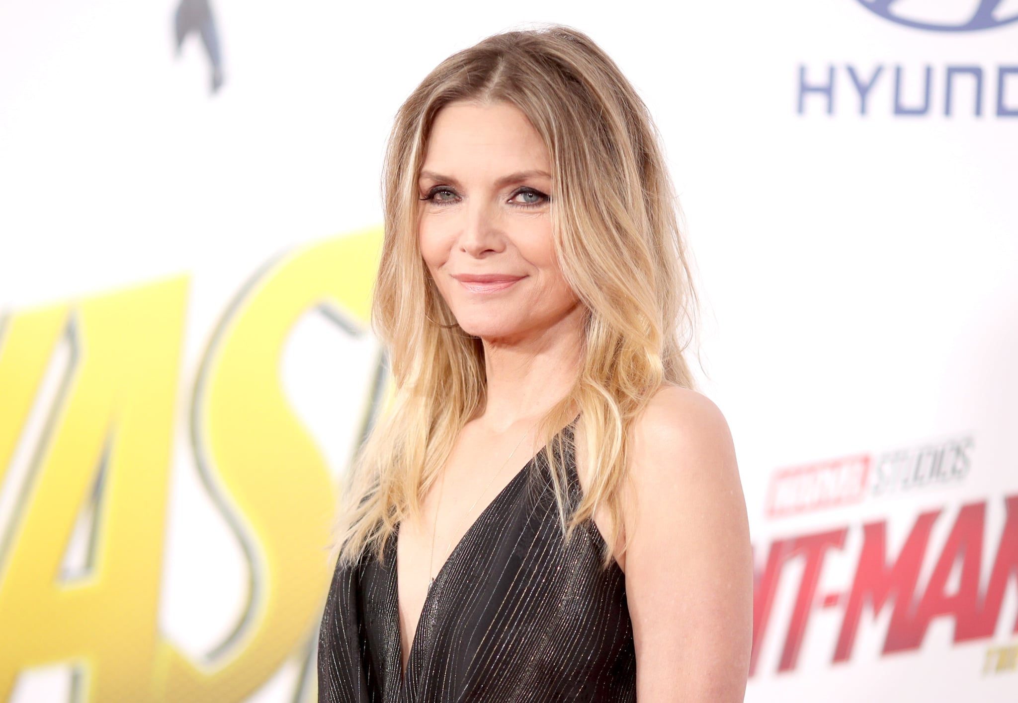 LOS ANGELES, CA - JUNE 25:  Michelle Pfeiffer attends the premiere of Disney And Marvel's