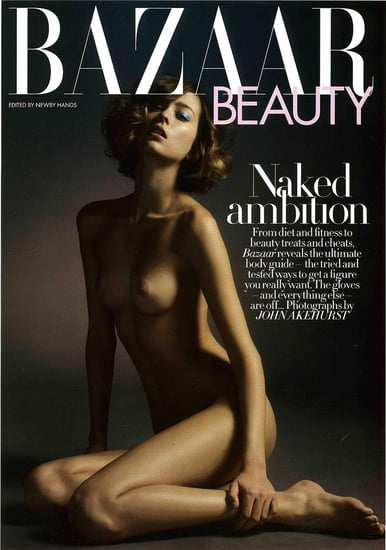 Harpers Bazaar UK - October 2008 - Naked Ambition - Morgane Dubled