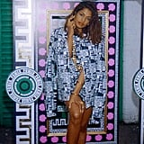 You'll never believe what M.I.A.'s collection for Versus was inspired by.  Photo courtesy of Versus Versace