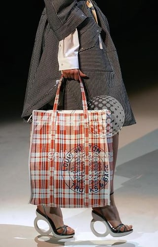 The Look for Less: Marc Jacobs Plaid Shopping Bag