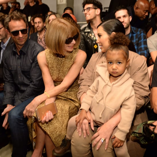 Kim Kardashian Learns to Style North West's Hair