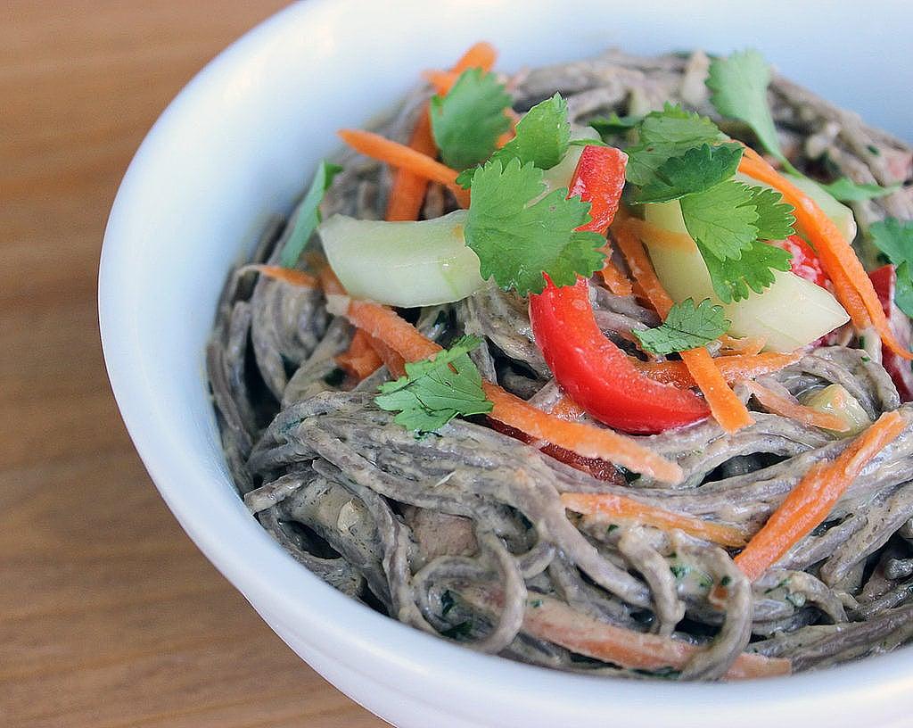 Healthy Soba Noodle Salad