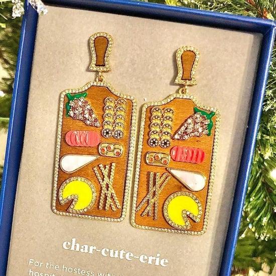 Charcuterie-Board Drop Earrings With Mini Salami | BaubleBar