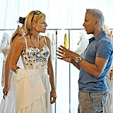 Lisa and Jay Manuel on America's Next Top Model.  Photo courtesy of The CW