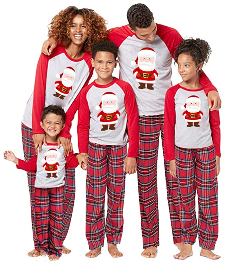 Santa Claus Christmas Pajamas Sets  07ceb2e37
