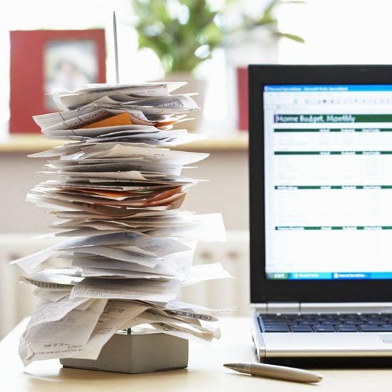 Collect Receipts to Track Spending