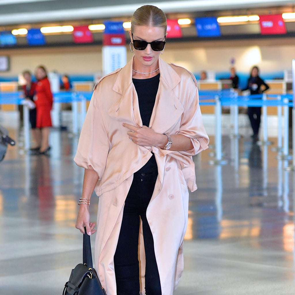 Rosie Huntington-Whiteley's Airport Style