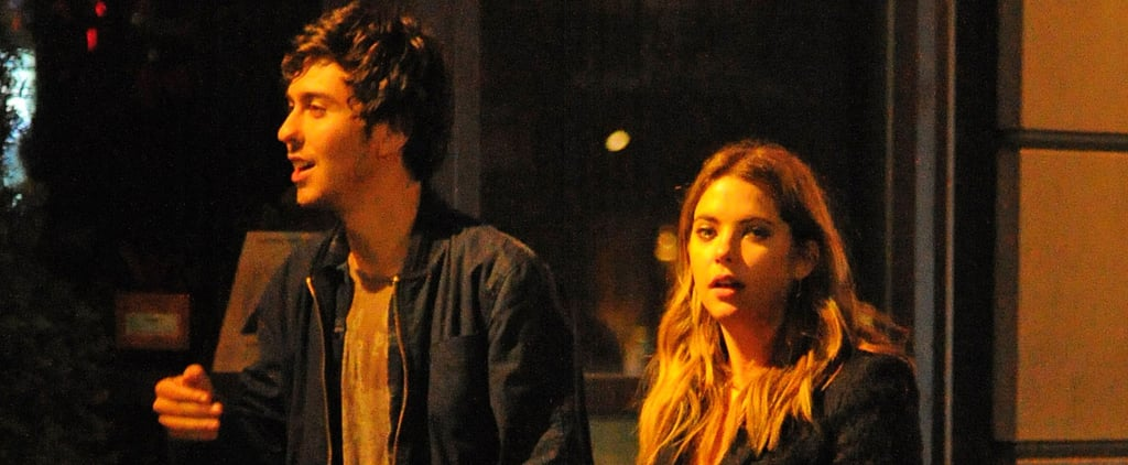 Ashley Benson and Nat Wolff Hold Hands in NYC Pictures