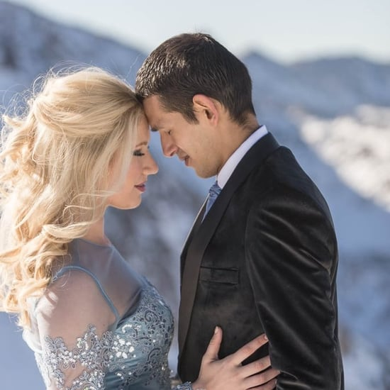 Disney's Frozen-Inspired Wedding
