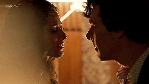 When the chemistry between Sherlock and Irene Adler was palpable.