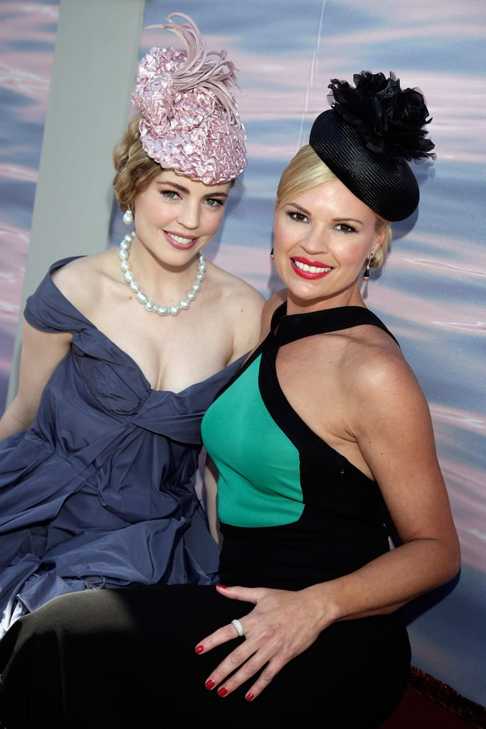 2007: Melissa George and Sonja Kruger