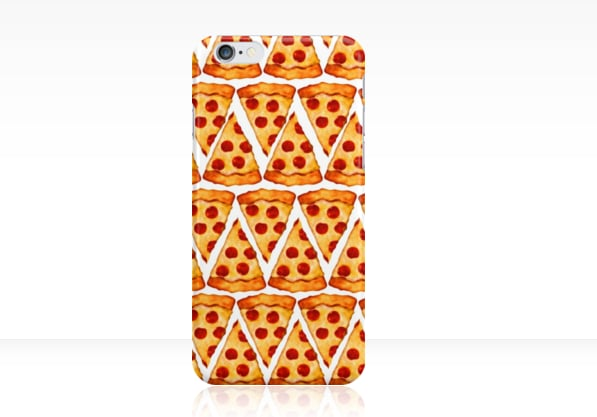 Wonderful Pizza Emoji Phone Case ($25)