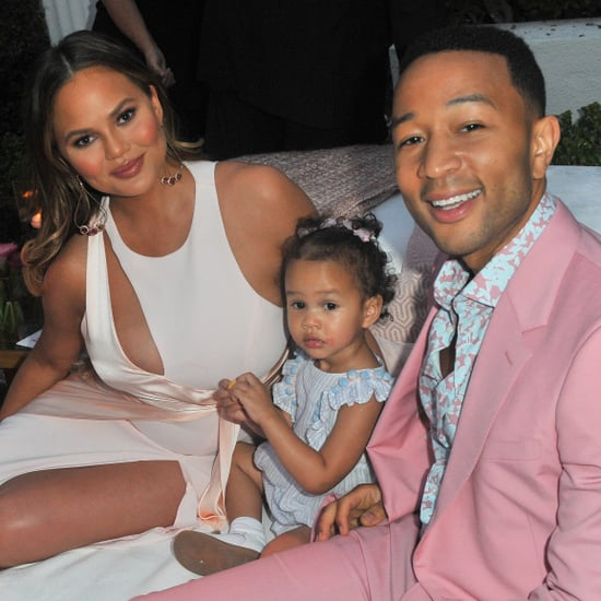 Chrissy Teigen and John Legend LVE Rosé Party June 2018